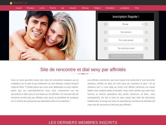 bondial.net : Site de rencontre par affinités