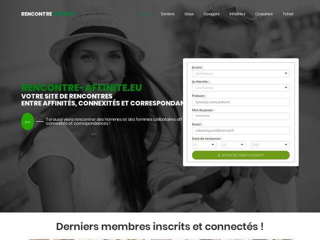 Rencontre-affinite.eu : Site de rencontres par affinités