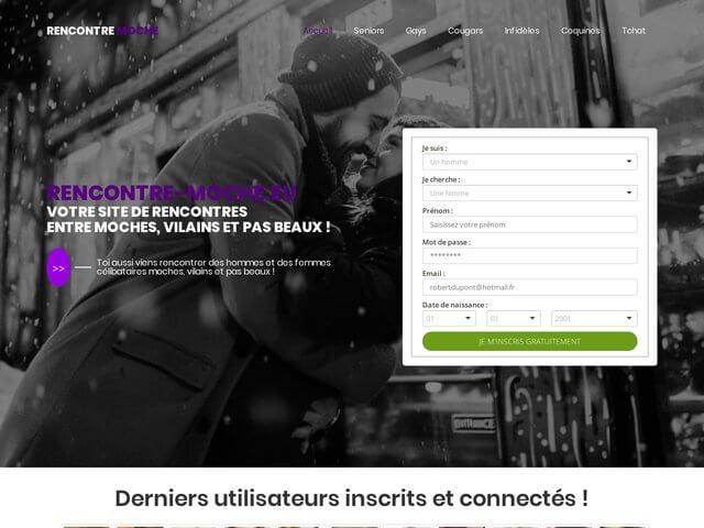 Rencontre-moche.eu : Site de rencontres entre moches