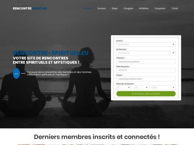 Rencontre-spirituel.eu : Site de rencontres entre spirituels