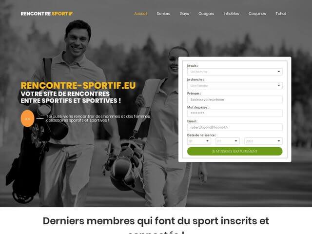 Rencontre-sportif.eu : Site de rencontres entre sportifs